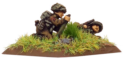 Light Mortar team