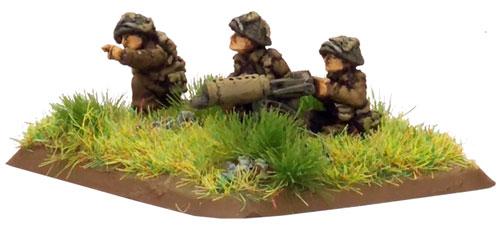 Flames of War compatible British WW2 Vickers Machine Gun Pillbox