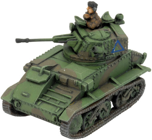 The Light Tank VI C with BESA 15mm gun