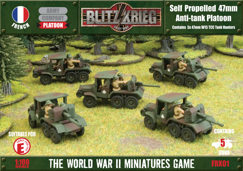 Self Propelled 47mm Anti-tank Platoon (FRX01)