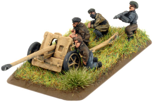 Weapons Section - PaK 38 Anti-tank gun team