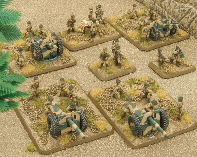 Tirailleurs 75mm Artillery Battery (FRX07)