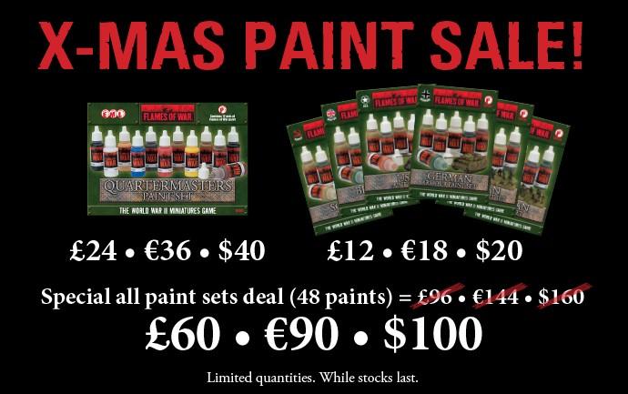 Christmas Paint Sale