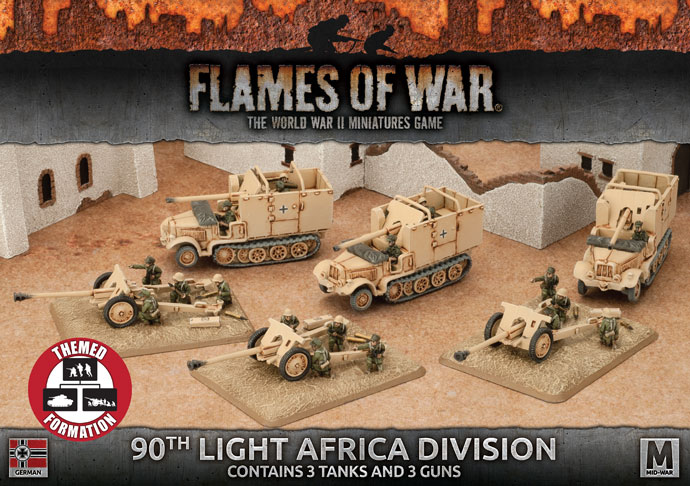 90th Light Africa Division (GBX104)