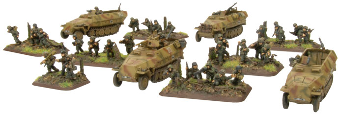Armoured Panzergrenadier Platoon