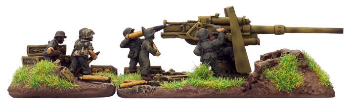 8.8cm FlaK36 gun