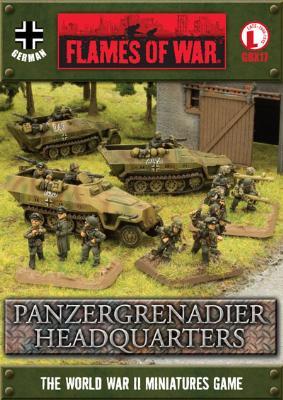 Gepanzerte Panzergrenadierkompanie Company HQ (GBX17)