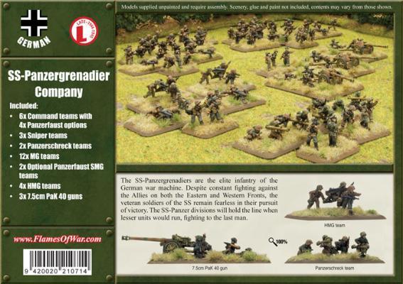 SS-Panzergrenadier Company (GBX18)