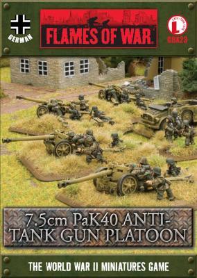 7.5cm PaK40 Anti-tank Gun Platoon (GBX23)