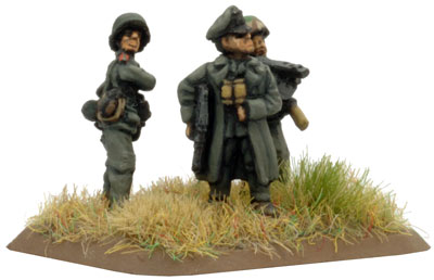 Company Command Panzerfaust SMG team