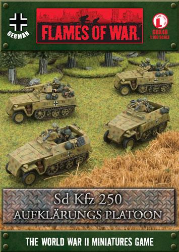 Sd Kfz 250 Aufklärungs Platoon (GBX40)