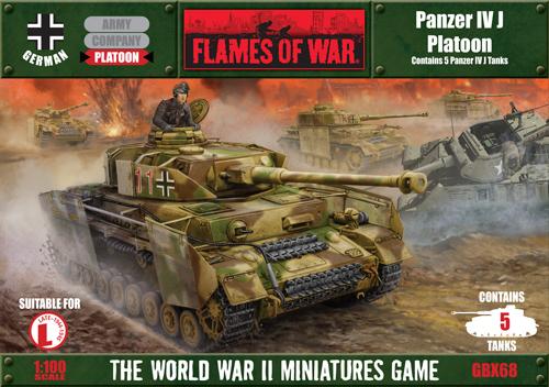 Panzer IV J Platoon (GBX68)