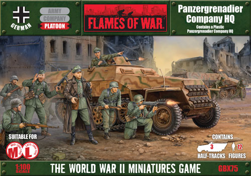 Panzergrenadier Company HQ (GBX75)