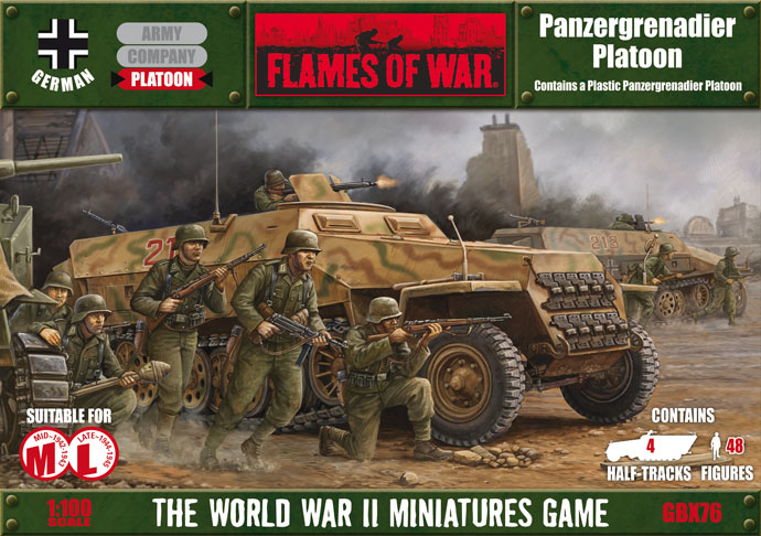 Assembling The Plastic Panzergrenadier Platoon