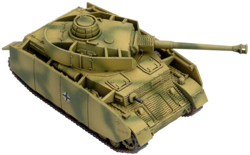 Preview of the New Plastic Panzer IV H Platoon