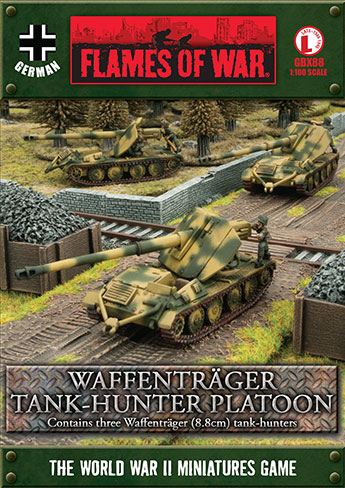 Waffenträger (8.8cm) Tank-hunter Platoon (GBX88)