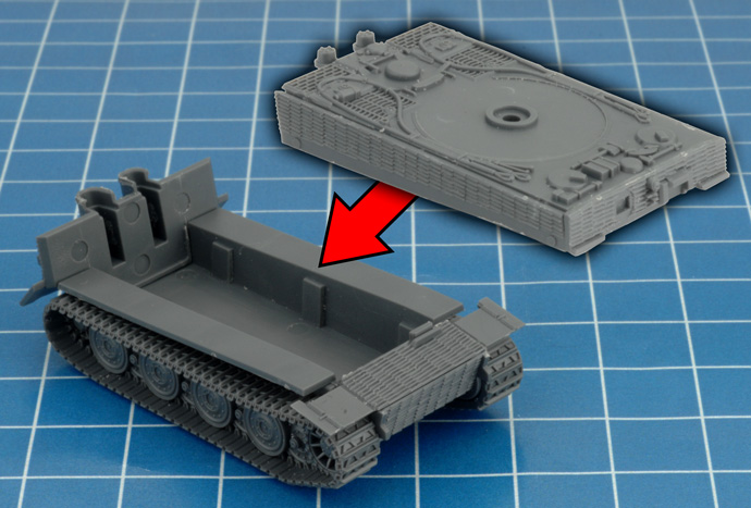 Assembling the Tiger I (8.8cm)