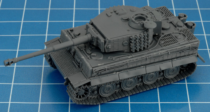 Assembling the Tiger (8.8cm)