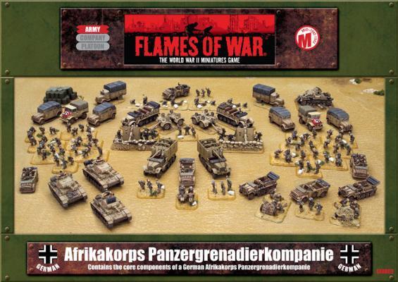 Afrikakorps Panzergrenadierkompanie (GEAB02)