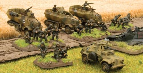 Gepanzerte Panzergrenadier Platoon