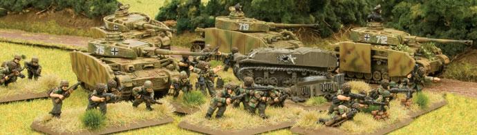 SS-Panzer Platoon and Fallschirmjäger Platoon