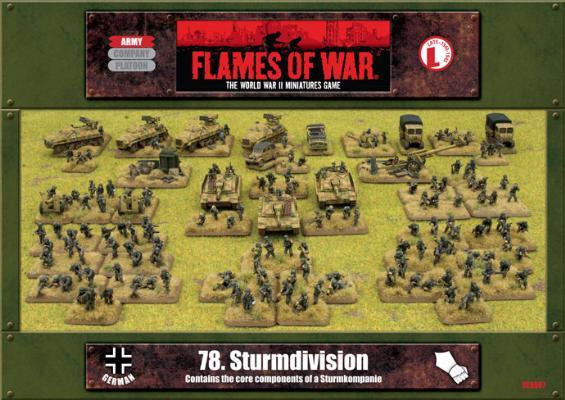 78. Sturmdivision Army Box