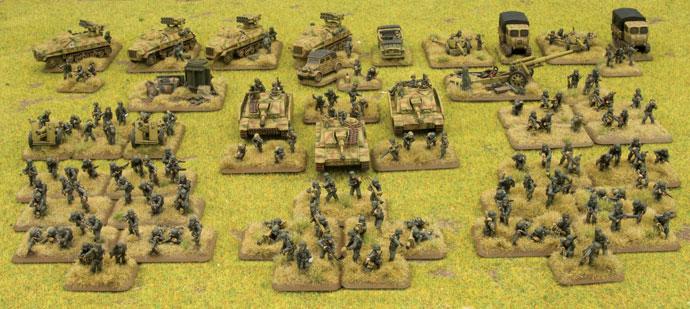 78. Sturmdivision Sturmkompanie and supports