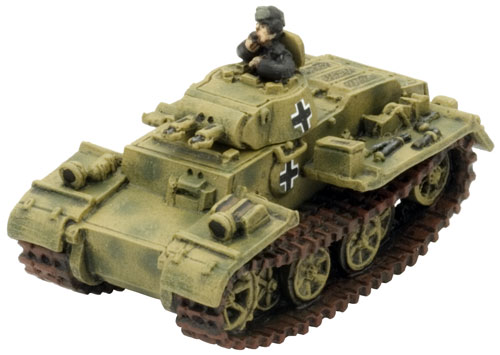 army tanks. Panzer I F Light Tank (MM12)