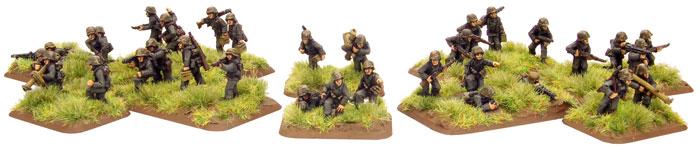 Panzer Lehr Panzergrenadier Platoons