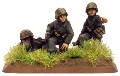 Panzer Lehr MG Command team