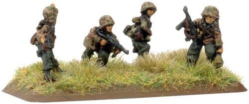 Panzerfaust SMG team