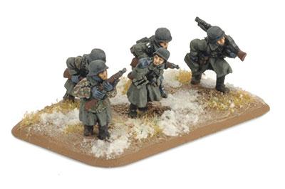 Infanterie Platoon (Greatcoat) (GE862)