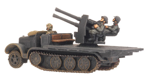 Sd Kfz 7/1 (Quad 2cm) (GE166)