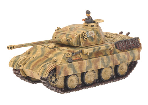 Panther D model from the Flames Of War range