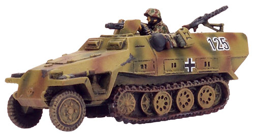 German Sd Kfz 251/1 D half-track
