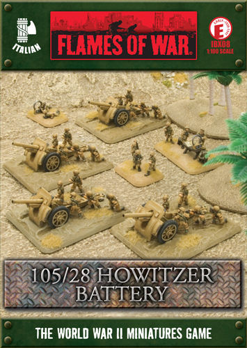 105/28 Howitzer Battery (IBX08)