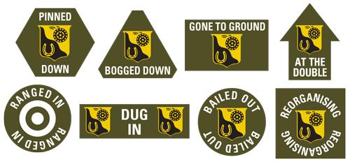 91st Cavalry Division Token Set (TK029)