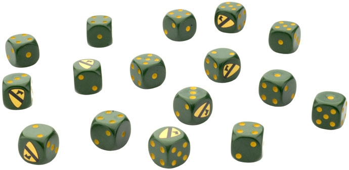 1st Cavalry Division (Airmobile) Dice Set (VE004)