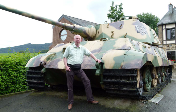 The Ardennes Battlefield Revisited