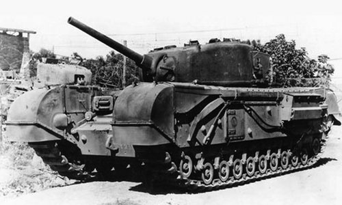 Churchill IV NA75, unique to the Italian campaign