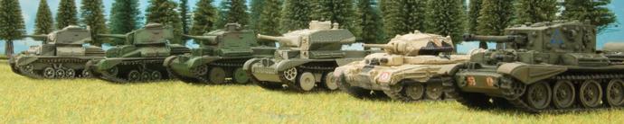 Cruiser Weights: The Evolution of the British Cruiser Tank
