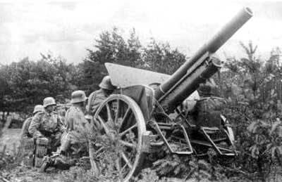 Image result for German Lefh 16 howitzer