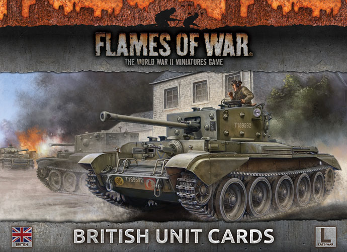 British Unit Cards (FW130B)