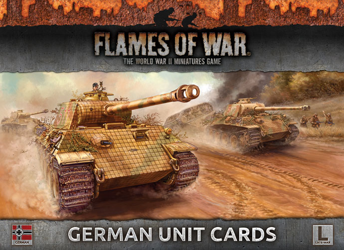 German Unit Cards (FW130G)