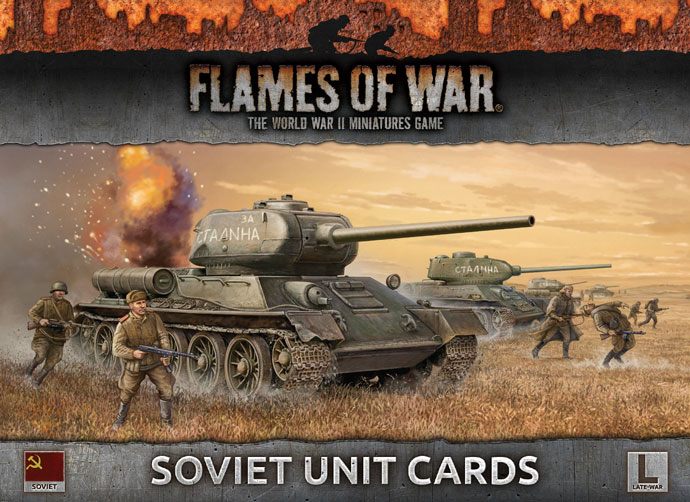 Soviet Unit Cards (FW130S)