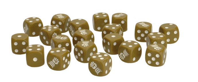 Armoured Fist Dice Set (BR902)