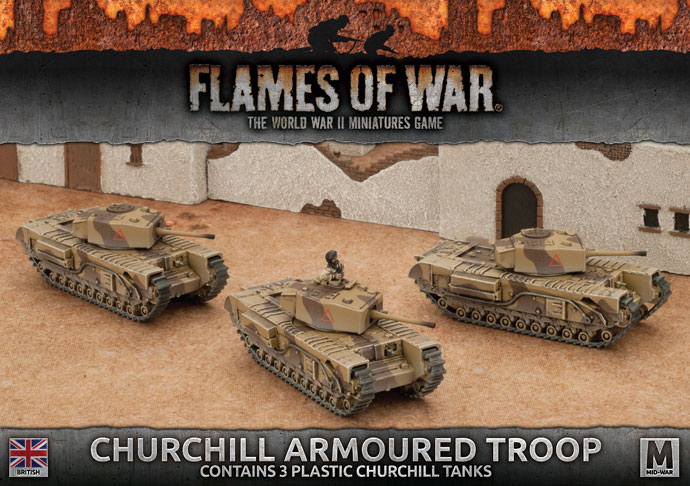 Churchill Armoured Troop (BBX44)