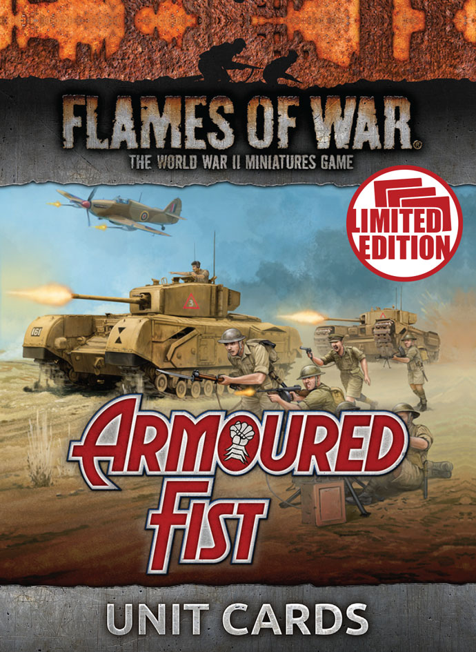 Armoured Fist Unit Cards (FW245U)
