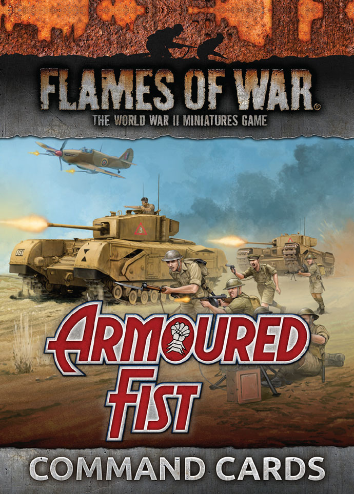 Armoured Fist Command Cards (FW245C)
