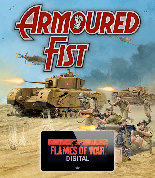 Armoured Fist is live on Digital